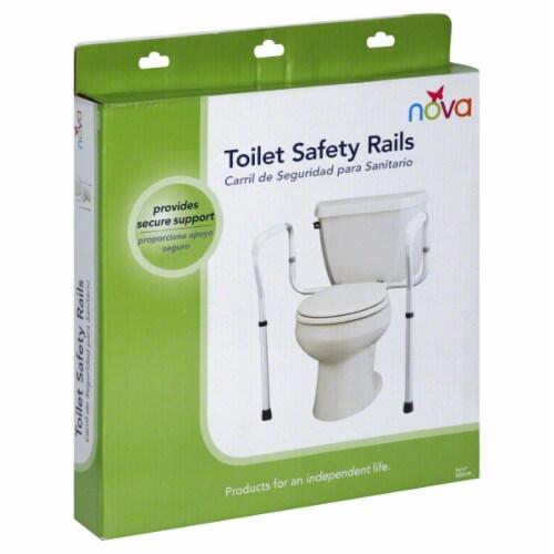 Nova Toilet Safety Rail Perspective: back