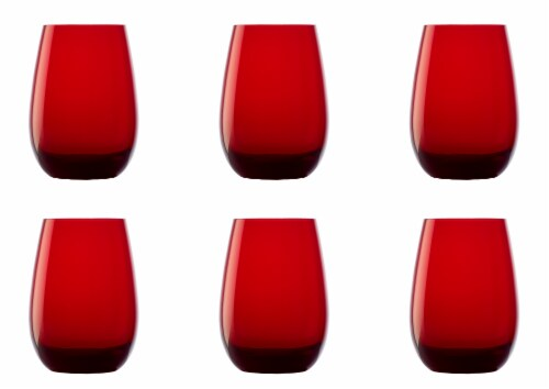 Elements Tumbler - Red Perspective: back