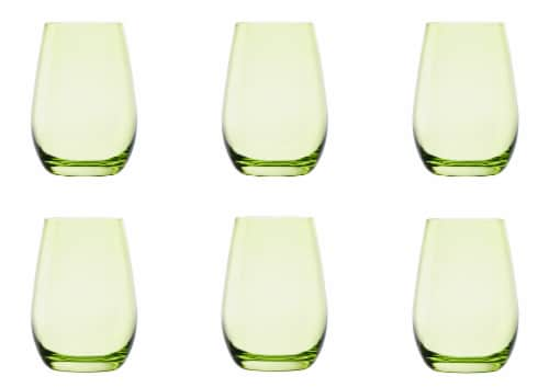 Elements Tumbler - Green Perspective: back