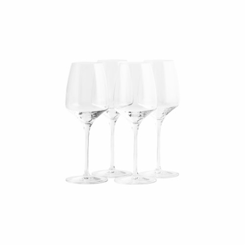 Stolzle Lausitz Experience White Wine Glasses Perspective: back