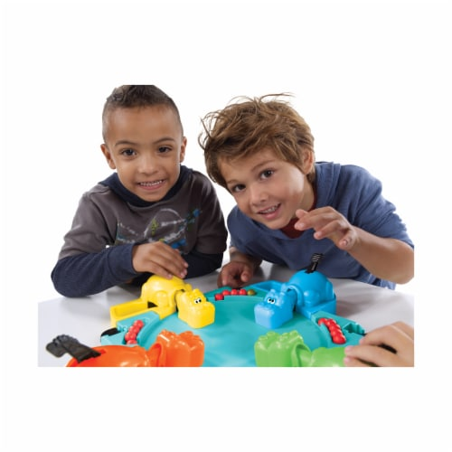 Hasbro Hungry Hungry Hippos Game Perspective: back