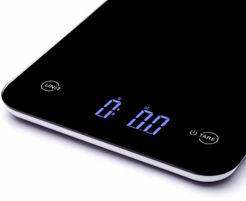 Ozeri Touch Professional Digital Kitchen Scale (12 lbs Edition) Perspective: back