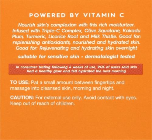 Avalon Organics® Vitamin C Renewal Creme Riche Perspective: back