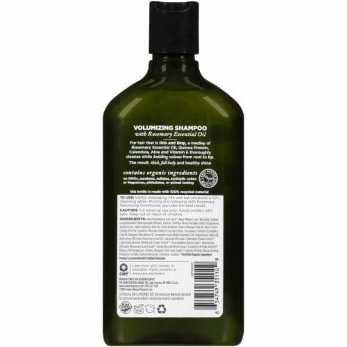 Avalon Organics® Volumizing Rosemary Shampoo Perspective: back