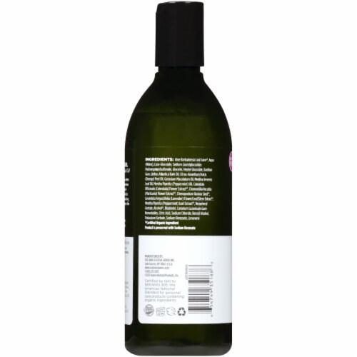Avalon Organics Mint Bath and Shower Gel Perspective: back