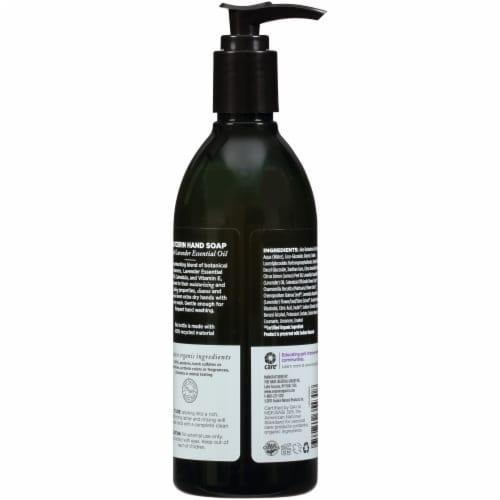 Avalon Organics® Lavender Liquid Hand Soap Perspective: back