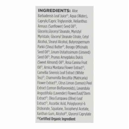 Avalon Organics Intense Defense Vitamin C Eye Cream Perspective: back