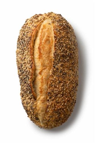 Izzio Seeded San Francisco Style Sourdough Bread Perspective: back