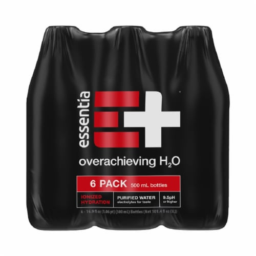 Essentia® Purified Water Perspective: back