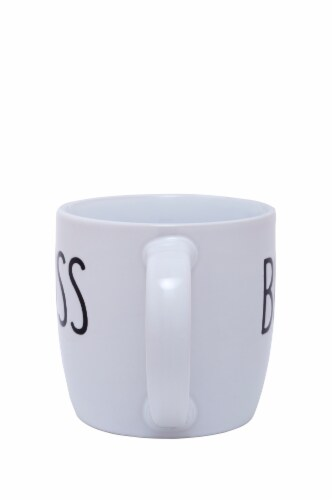 Pacific Market International Short Barrel Boss Mug Perspective: back