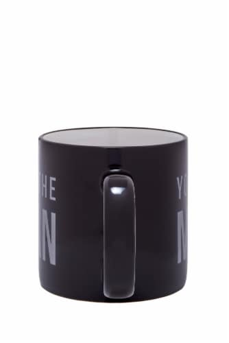 Pacific Market International You The Man Mug - Black Perspective: back