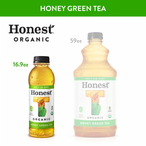 Honest® Tea Organic Honey Green Tea Perspective: back