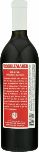 Troublemaker Red Blend Perspective: back