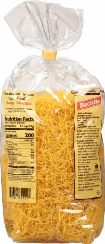 Bechtle Thin Soup Noodles Perspective: back