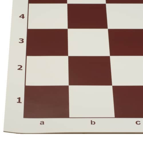 WE Games Complete Tournament Chess Set, Plastic Pieces, Brown Board, Travel Bag Perspective: back
