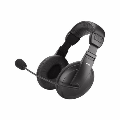 Digital Innovations Padded Multimedia Headset - Black Perspective: back