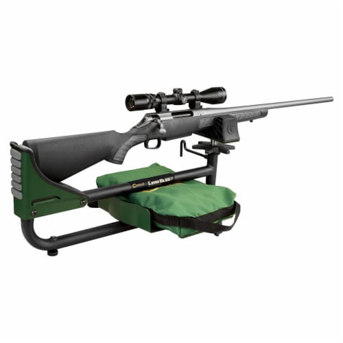 Caldwell Lead Sled 3 Outdoor Range Adjustable Ambidextrous Rifle Shooting Rest Perspective: back