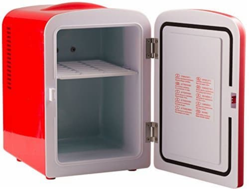Uber Appliance Mini Fridge 6-can portable refrigerator|cooler/warmer|Bedroom/dorm/RV Perspective: back