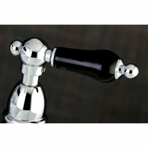 Kingston Brass KS1171PKL Duchess Bridge Kitchen Faucet, Polished Chrome Perspective: back