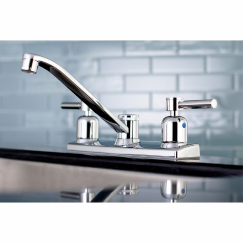 Kingston Brass FB121DL Concord 8-Inch Centerset Kitchen Faucet, Polished Chrome Perspective: back