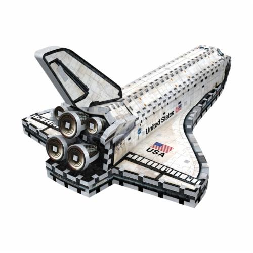 Wrebbit Space Shuttle Orbiter 3D Puzzle Perspective: back