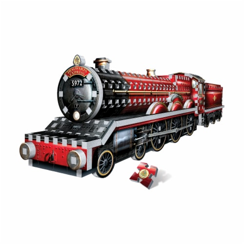 Wrebbit Harry Potter Collection Hogwarts Express 3D Puzzle Perspective: back