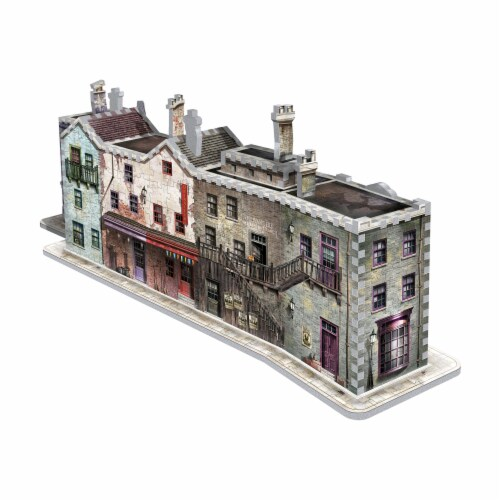 Wrebbit Harry Potter Collection Diagon Alley 3D Puzzle Perspective: back