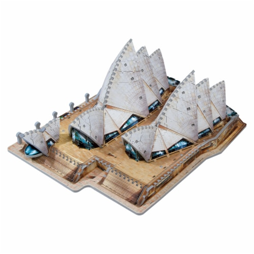Wrebbit Sydney Opera House 3D Puzzle Perspective: back