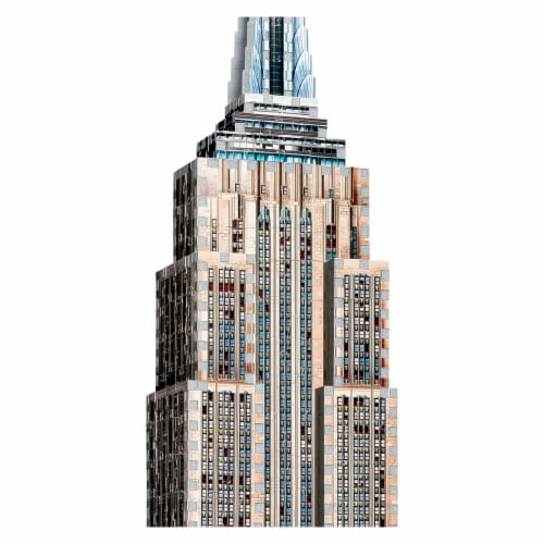 Wrebbit Empire State Building 3D Puzzle Perspective: back