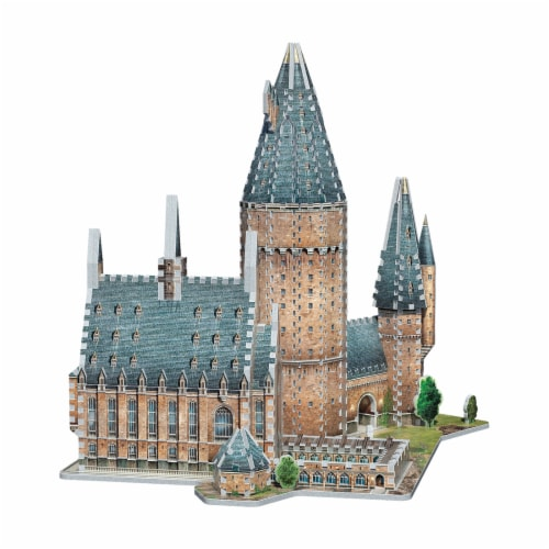 Wrebbit Harry Potter Collection Hogwarts Great Hall 3D Puzzle Perspective: back