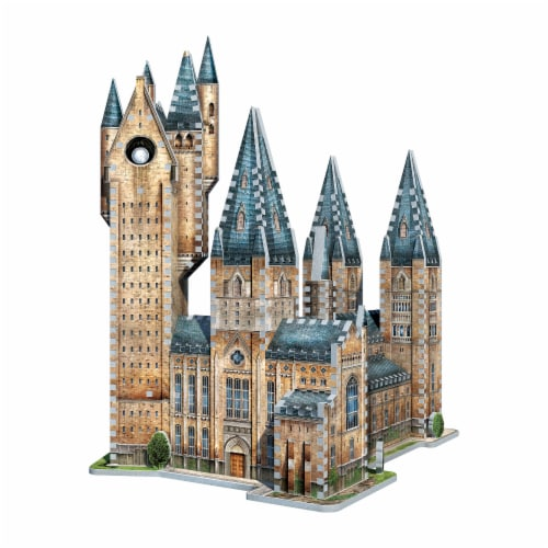 Wrebbit Harry Potter Collection Hogwarts Astronomy Tower 3D Puzzle Perspective: back