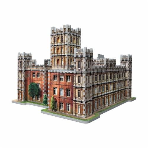 Wrebbit Downton Abbey 3D Puzzle Perspective: back