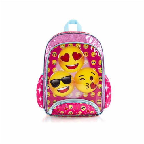 e-Motion Deluxe Pink Backpack Perspective: back