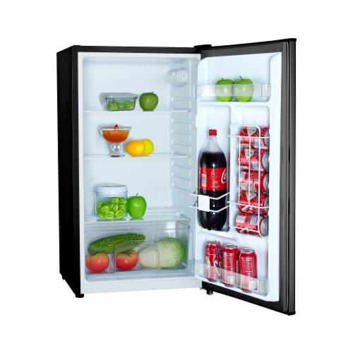 Magic Chef MCAR320BE 3.2 Cu Ft Compact Mini Full Range All Refrigerator, Black Perspective: back