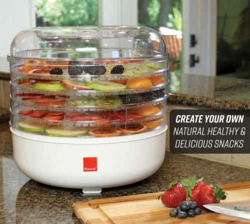Ronco 5-Tray Electric Food Dehydrator Perspective: back