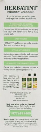 Herbatint 4n Chestnut Permanent Haircolor Gel Perspective: back