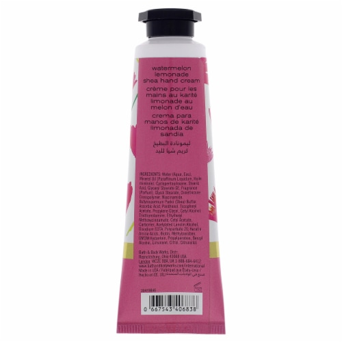 Watermelon Lemonade Hand Cream by Bath and Body Works for Women - 1 oz Cream Perspective: back