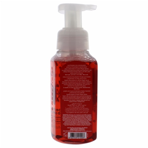 Watermelon Lemonade Hand Soap by Bath and Body Works for Unisex - 8.75 oz Soap Perspective: back