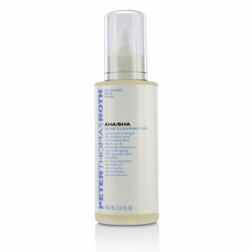 AHA-BHA Acne Clearing Gel by Peter Thomas Roth for Unisex - 3.4 oz Treatment Perspective: back