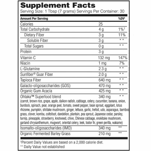 Enzymedica® GI Recovery Digestive Drink Mix Perspective: back