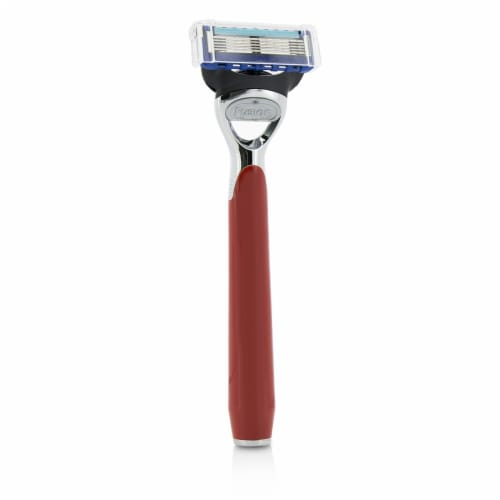 The Art Of Shaving Morris Park Collection Razor  Signal Red 1pc Perspective: back