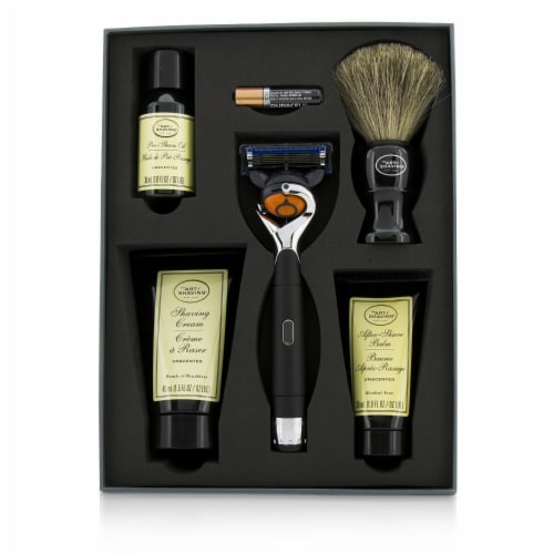 The Art Of Shaving Lexington Collection Power Shave Set: Razor + Brush + Pre Shave Oil + Shav Perspective: back