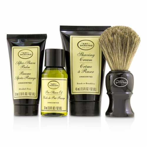 The Art Of Shaving The 4 Elements of the Perfect Shave MidSize Kit  Unscented 4pcs Perspective: back