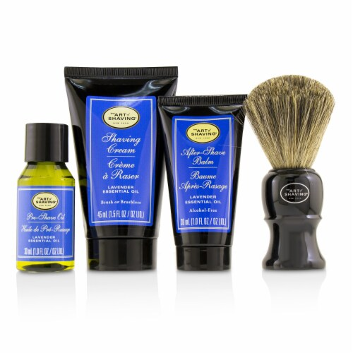 The Art Of Shaving The 4 Elements of the Perfect Shave MidSize Kit  Lavender 4pcs Perspective: back