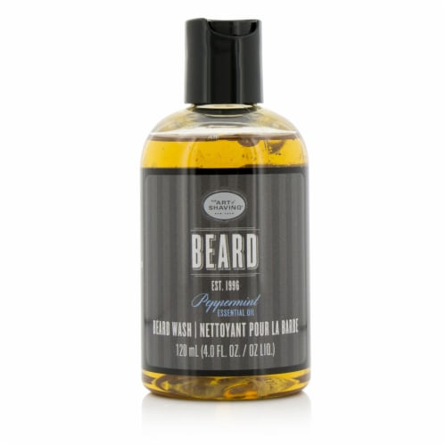 The Art Of Shaving Beard Wash  Peppermint Essential Oil 120ml/4oz Perspective: back