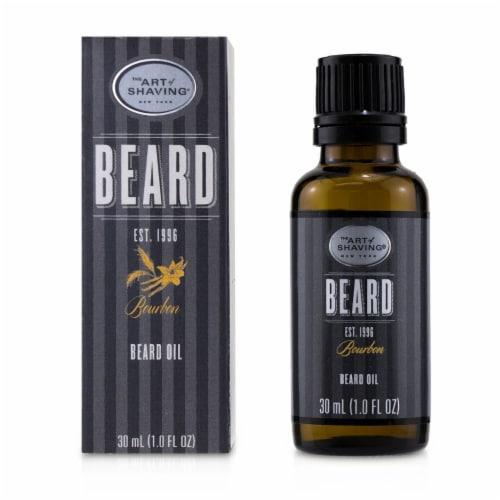 The Art Of Shaving Beard Oil  Bourbon 30ml/1oz Perspective: back