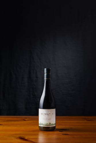 McManis Family Vineyards Petite Sirah Red Wine Perspective: back