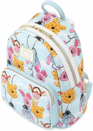 Balloon Friends Winnie The Pooh Mini Backpack Perspective: back