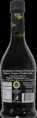 Monari Federzoni Aged Balsamic Vinegar of Modena Perspective: back
