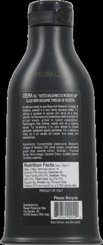 Monari Federzoni Balsamic Vinegar Glaze Perspective: back